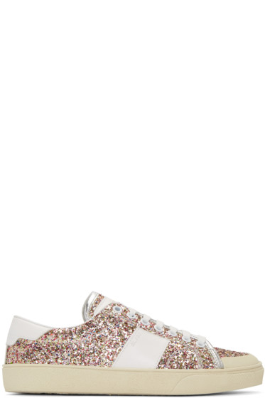 Saint Laurent - Multicolor Court Classic SL/37 Surf Glitter Sneakers