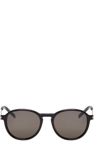 Saint Laurent - Black Panthos SL 110 Sunglasses