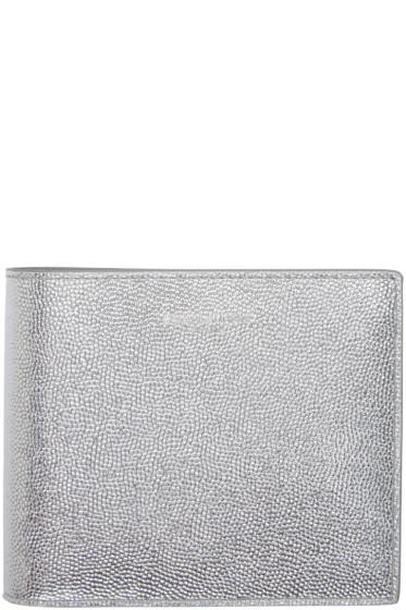 Saint Laurent - Silver Leather East/West Wallet