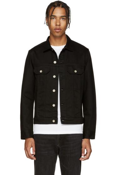 PS by Paul Smith - Black Denim Jacket