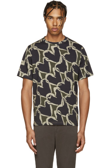 PS by Paul Smith - Khaki Hearts T-Shirt
