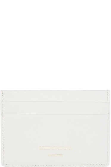 Woman by Common Projects - Off-White Leather Multi Card Holder