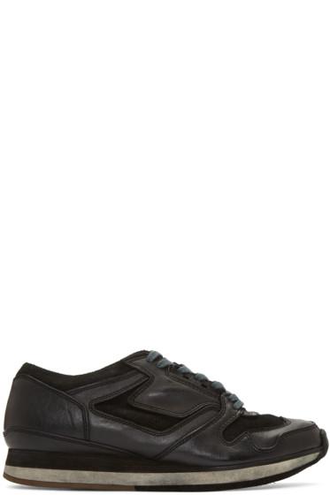Sacai - Black Hender Scheme Edition Leather Sneakers
