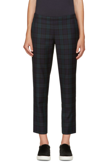 6397 - Green Plaid Trousers
