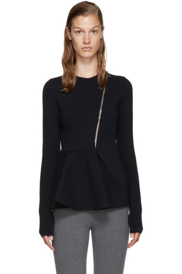 Stella McCartney - Navy Peplum Jacket