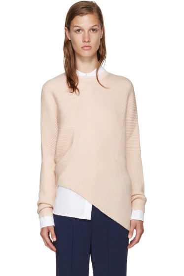 Stella McCartney - Pink Clean Rib Sweater