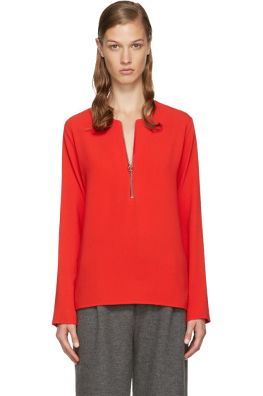 Stella McCartney - Red Arlesa Blouse
