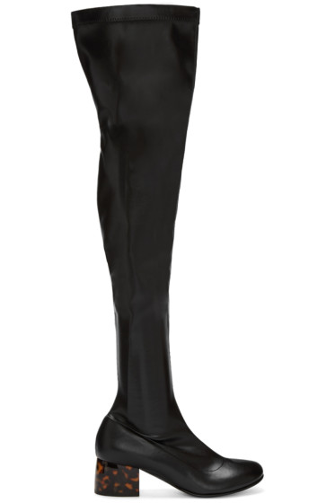 Stella McCartney - Black Tall Boots