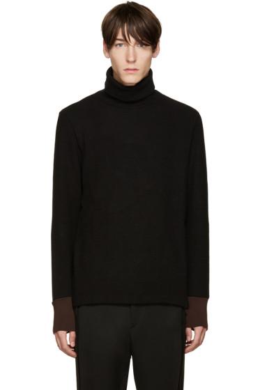 Umit Benan - Black Wool Turtleneck