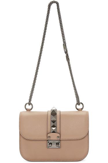 Valentino - Pink Small Lock Bag