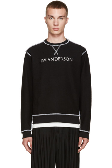 J.W.Anderson - Black Inside-Out Pullover