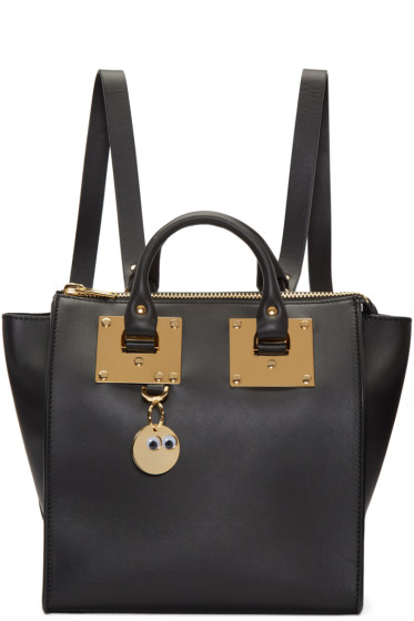 Sophie Hulme - Black Small Holmes Backpack
