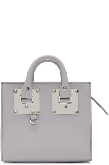 Sophie Hulme - Grey Mini Albion Box Tote