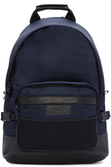 AMI Alexandre Mattiussi - Blue Nylon Backpack