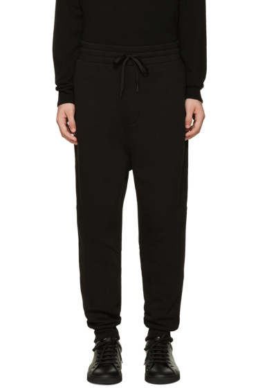 AMI Alexandre Mattiussi - Black Fleece Lounge Pants