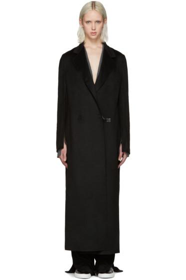 Calvin Klein Collection - Black Cashmere Coat