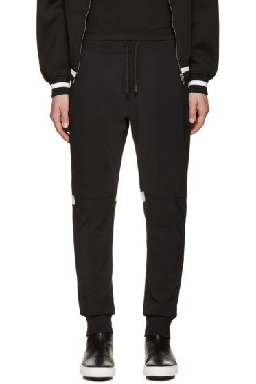 Calvin Klein Collection - Black Knit Major Lounge Pants