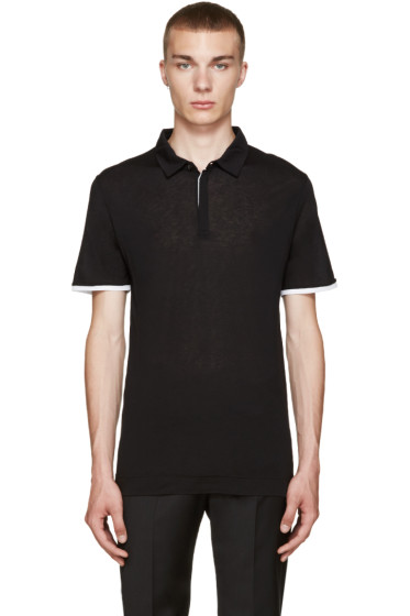 Calvin Klein Collection - Black Misel Polo