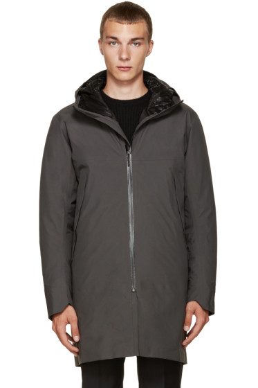 Arc'teryx Veilance - Grey Monitor Down Coat