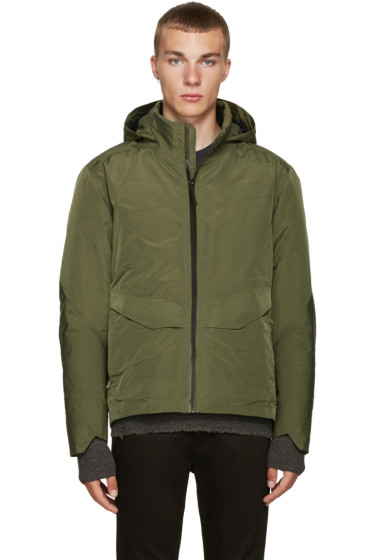 Arc'teryx Veilance - Green Down Node Jacket