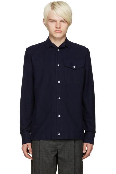 Kolor - Navy Pocket Shirt