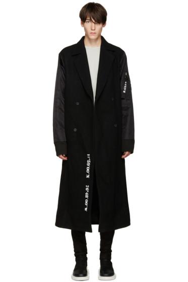 D.Gnak by Kang.D - Black Layered Coat