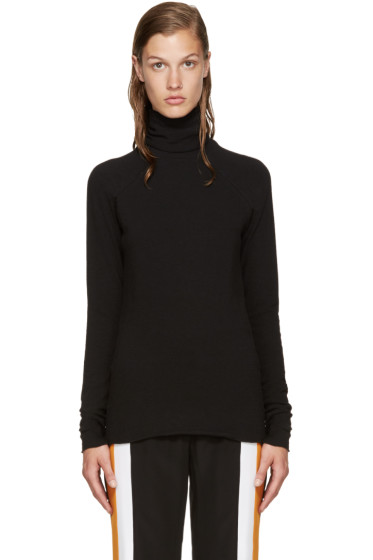 Haider Ackermann - Black Duplessis Turtleneck