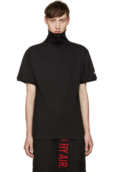Hood by Air - Black Idiot Pilgrim T-Shirt