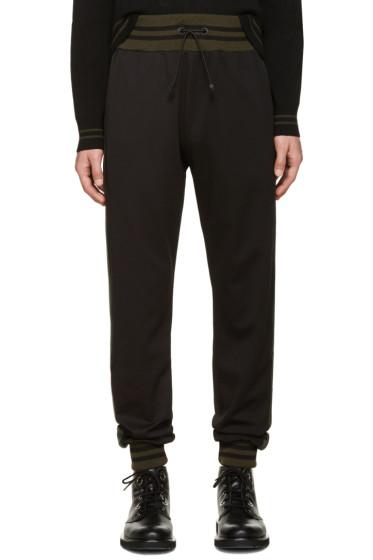 Giuliano Fujiwara - Black Striped Lounge Pants
