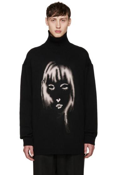 Yohji Yamamoto - Black Face Turtleneck