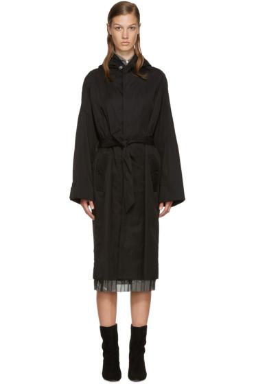 Isabel Marant Etoile - Black Nylon Daker Trench Coat