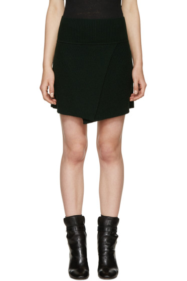 Isabel Marant Etoile - Green Estelle Perfect Winter Skirt