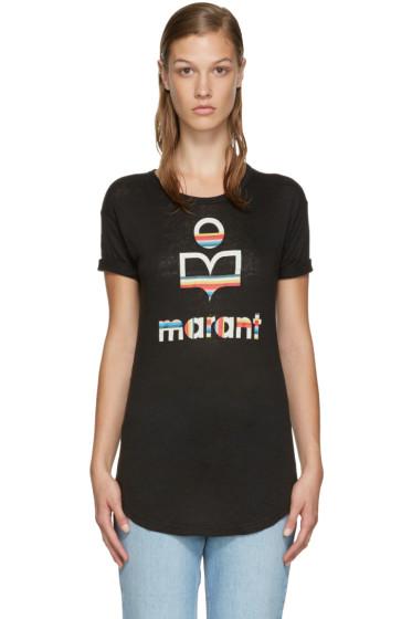 Isabel Marant Etoile - Black Logo Kolda T-Shirt