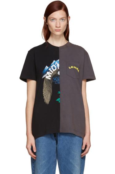 Off-White - Black Reassembled T-Shirt