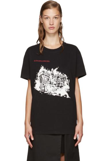 Off-White - Black Burning Palace T-Shirt