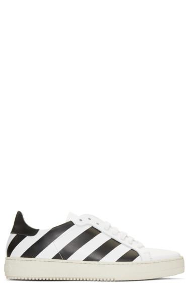 Off-White - White Diagonals Sneakers