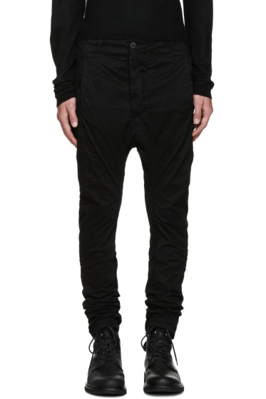 11 by Boris Bidjan Saberi - Black Dye Trousers