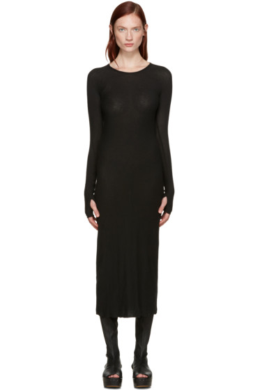 Boris Bidjan Saberi - Black Jersey Dress
