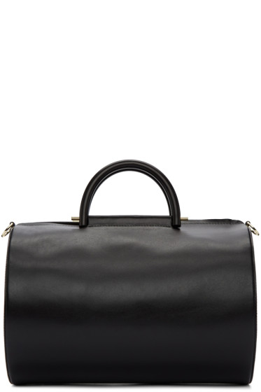 Building Block - Black Cylinder Duffle Bag