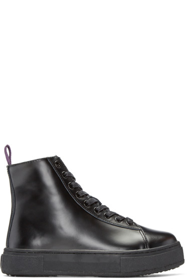 Eytys - Black Kibo High-Top Sneakers