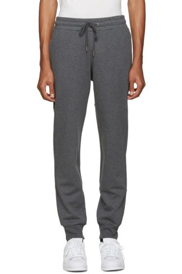 Versace Underwear - Grey Logo Back Lounge Pants