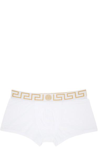 Versace Underwear - White Medusa Boxer Briefs