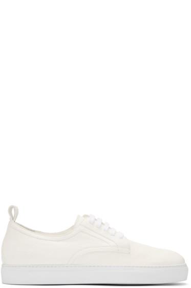 AD Ann Demeulemeester - White Arid Sneakers