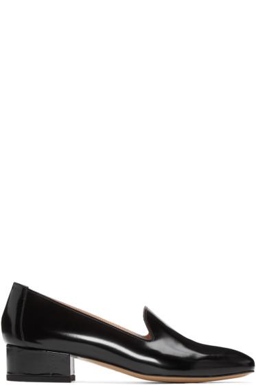 Mansur Gavriel - Black Venetian Loafers