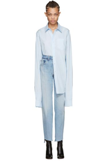 Vetements - Blue Long Classic Shirt