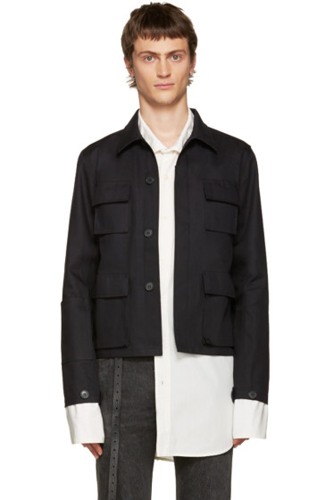 Vetements - Black Gun Club Jacket