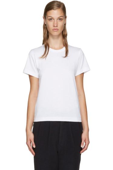 Comme des Garçons Comme des Garçons - White Jersey T-Shirt