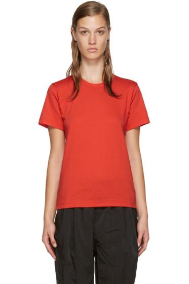 Comme des Garçons Comme des Garçons - Red Jersey T-Shirt