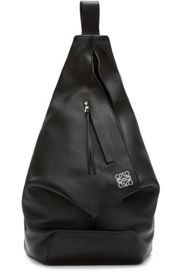 Loewe - Black Anton Backpack