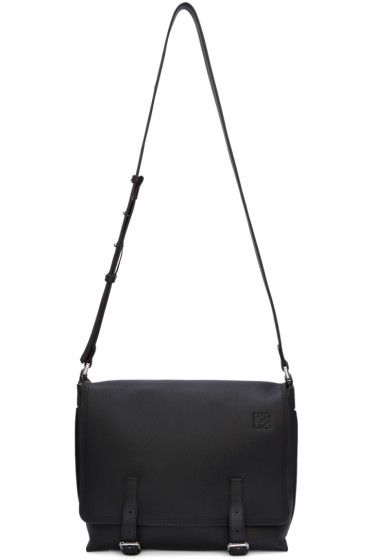 Loewe - Black Small Military Messenger Bag